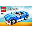 LEGO Blue Roadster Set 6913 Instructions
