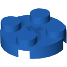 LEGO Blue Round Plate 2 x 2 with Axle Hole (with '+' Axle Hole) (4032)