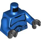 LEGO Blue Senate Commando Trooper Minifig Torso (76382)