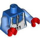 LEGO Blue Skier Torso (88585)