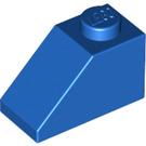 LEGO Blue Slope 1 x 2 (45°) (3040)