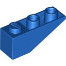 LEGO Blue Slope 1 x 3 (25°) Inverted (4287)