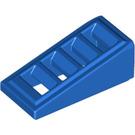 LEGO Blue Slope 18° 2 x 1 x 2/3 Grille (61409)