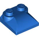 LEGO Blue Slope 2 x 2 Curved with Curved End (47457)