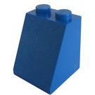 LEGO Blue Slope 2 x 2 x 2 (65°) with Stud Holder (3678)