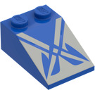 LEGO Slope 25° (33) 2 x 3 with Decoration with Rough Surface (3298)