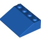 LEGO Blue Slope 3 x 4 (25°) (3297)