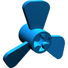 LEGO Blue Small Boat Propeller with 3 Blades (6041)