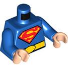 LEGO Blue Superman Minifig Torso (76382)