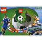 LEGO Blue Team Bus Set 3405