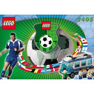 LEGO Blue Team Bus Set 3405 Instructions