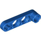 LEGO Blue Technic Beam 1 x 4 x 0.5 with Knob (32006)