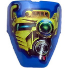 LEGO Technic Throwbot Visor with Scuba Pattern