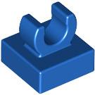 "LEGO Blue Tile 1 x 1 with Clip (Raised ""C"") (15712 / 44842)"