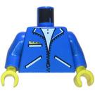 LEGO Blue Torso with Three Pockets on Jacket (76382)