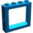 LEGO Blue Train Window 1 x 4 x 3 (4033)