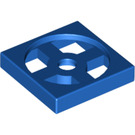 LEGO Blue Turntable 2 x 2 Plate Base (3680)