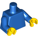 LEGO Blue Undecorated Torso with Blue Arms and Yellow Hands (76382)