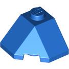 LEGO Blue Wedge 2 x 2 (45°) Corner (13548)