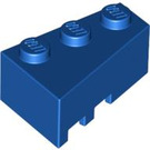 LEGO Blue Wedge 3 x 2 Right (6564)
