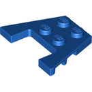LEGO Blue Wedge Plate 3 x 4 with Stud Notches (4859 / 28842 / 48183)