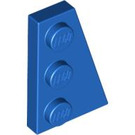 LEGO Blue Wing 2 x 3 Right (43722)
