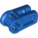 LEGO Blue Wire Clip with Cross Hole (49283)