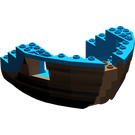 LEGO Boat Bow 12 x 12 x 5 & 1/3 Hull Inside Assembly (6051)