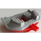 LEGO Boat Hull 16 x 22 with Medium Stone Gray Top (47980)