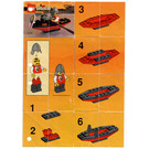 LEGO Boat with Armour Set 1752 Instructions