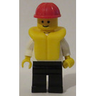 LEGO Boat Worker with Life Jacket Minifigure