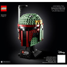 LEGO Boba Fett Helmet Set 75277 Instructions