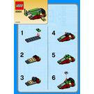 LEGO Boba Fett's Slave I Set (Kabaya) 6964-1 Instructions