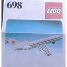 LEGO Boeing Aeroplane Set 698 Instructions