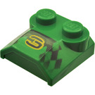 """LEGO Bonnet 2 x 2 x 2/3 with """"3"""" without Curved End (41855)"""