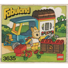 LEGO Bonnie Bunny's Camper Set 3635 Instructions