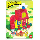 LEGO Bonny Bunny's New House Set 3674 Instructions