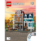 LEGO Bookshop Set 10270 Instructions