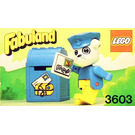LEGO Boris Bulldog and Mailbox Set 3603