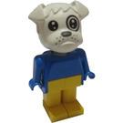 LEGO Boris Bulldog Fabuland Figure