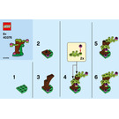 LEGO Botanical Accessories Set 40376 Instructions
