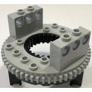 LEGO Bottom for Turntable with Technic Bricks Attached Assembly (2856)