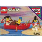 LEGO Bounty Boat Set 6247 Instructions
