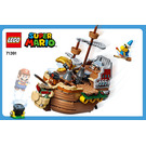 LEGO Bowser's Airship Set 71391 Instructions