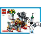 LEGO Bowser's Castle Boss Battle Set 71369 Instructions