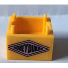 LEGO Box 2 x 2 Bottom with Honeydukes in Diamond Sticker
