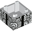 LEGO Box 2 x 2 with Nightmare Before Christmas Decoration (48800 / 59121)