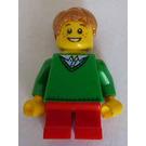 LEGO Boy - Green Sweater Minifigure