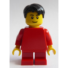 LEGO Boy in Red Minifigure