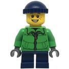 LEGO Boy with Bright Green Jacket Minifigure